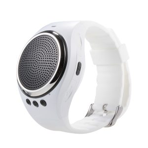 RS09 Musical Smart Wristband Bluetooth Fjärrkontroll Music Speaker Pedometer Watch