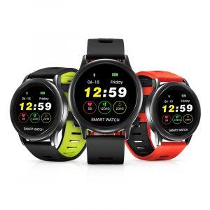 """SPOVAN VENUS 1.22 """"TFT-skärm IP67 Vattentät Smart Watch Hjärtfrekvensmätare 3D-pedometer Fitness träningsarmband"""