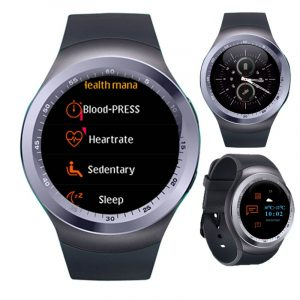 KALOAD Y1 PLUS 1,54 '' IPS-skärm Smart Watch Hjärtfrekvens Blodtrycksmätare Fitness Sportarmband