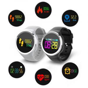 KALOAD Q69 färg pekskärm hjärtfrekvens blodtrycksmätare Vattentät sportarmband
