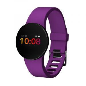 """XANES H8S 0.66 """"OLED Färgskärm IP68 Vattentät Smart Watch Hjärtfrekvens Blodtrycksmätare Fitness Sport Smart Armband"""