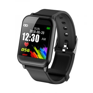 "XANES VO421C 1.3 ""IPS Färg Touch Screen IP67 Vattentät Smart Watch Pedometer Hjärtfrekvens Blodtrycksmätare Fitness Armband"