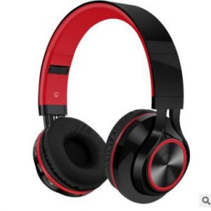 Bakeey Portable Wireless bluetooth Headphone Foldable FM Radio TF Card NFC Stereo Heavy Bass Headset with Mic
