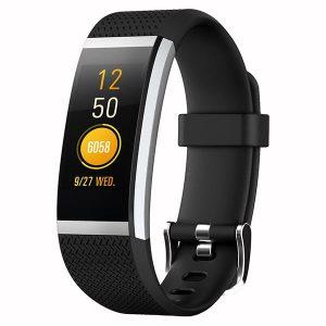 KALOAD FIT HR2 IPS HD Färgskärm Smart armband Dynamisk hjärtfrekvens vattentät sport armband