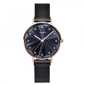 SINOBI 9793 Star Crystal Women Quartz Watch
