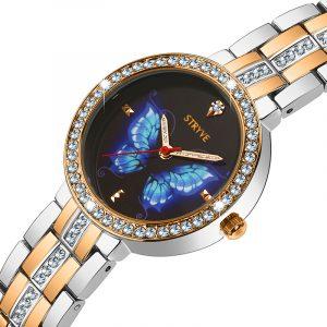 STRYVE T1018 Lyxig Crystal Women Quartz Watch