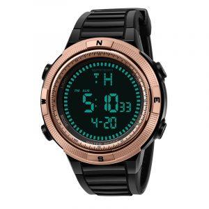 SANDA 360 Fashion Silicon Luminous Display Digital Watch