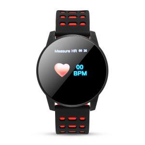 Bakeey 1.3' Color Screen Heart Rate Blood Pressure Oxygen Monitor Waterproof Social Message View Smart Watch