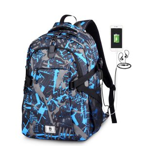 Men Outdoor Casual Sport Backpack Basketball Bag