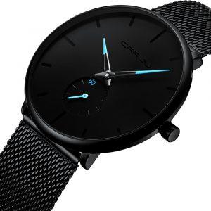 CRRJU 2150 Simple Dial Bright Needle Quartz Watch