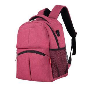 Insular® Women's Multifunction Diaper Bag Mode Ryggsäck för mödrar