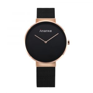 Ananke Casual Style Stainless Steel Strap Men Quartz Watch