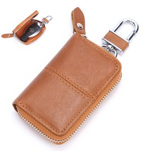 Genuine Leather Car Key Holder Key Bag For Men