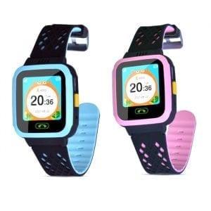 Bakeey GM09 1,44 tum LBS GPS-övervakning SMS SIM-kamera Smart Smart Watch för barn