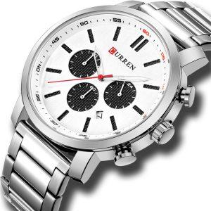 CURREN 8315 Chronograph Waterproof Quartz Watch