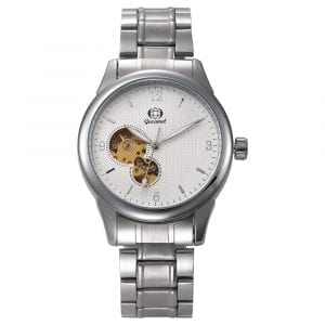 Gucamel GT12 Fashion Stainless Steel Band Mechanical Men Watch