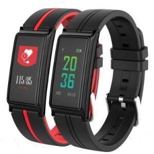 B5 Blodtryck Pulsmätare Smart armband Pedometer Fitness Tracker Smart armband