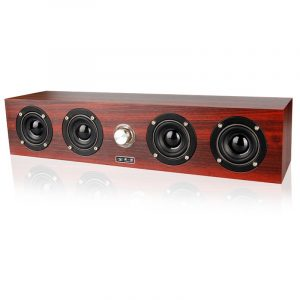 12W Four Units bluetooth Speaker Super Bass Stereo USB Powered Subwoofer for Laptop Phone Tablet
