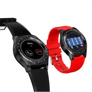 "Bakeey L9 1.3"" Dial Bulit in Camera APP bluetooth Call Sleep Monitor SIM TF Card Smart Watch Phone"