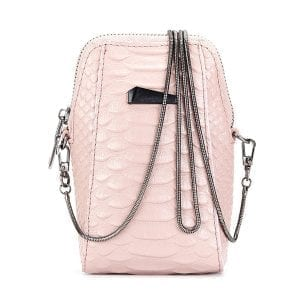 5.5 Inches Cell Phone Women Genuine Leather Crossbody Bag