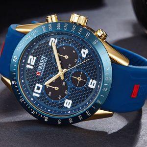 CURREN 8167 Silikonband Sport Quartz Watch