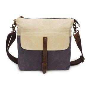 Canvas Leisure Vintage Waterproof Shoulder Bag Crossbody Bag For Men