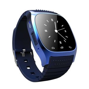 GELIDA M26 Pro 1.4 Color Touch Smart Watch Pedometer Stoppur Höjdmätare Termometer Sport Fitness Armband