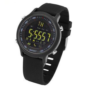Bakeey EX18 Sleep Fitness Tracker SMS Påminnelse Pedometer bluetooth Smart Watch för IOS Android