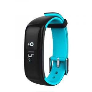 KALOAD Sports P1 Smart bluetooth armband Armband Hjärtfrekvens Blodmonitor Vattentät IP67 klocka
