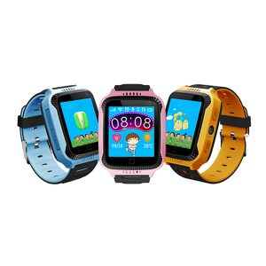 Bakeey DS09 1.4inch Touch Screen GPS LBS Location SOS Phone Call Camera Flashlight Kids Smart Watch
