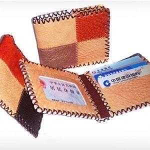 2 vikta hasp kort plånbok handarbete blommönster väska korthållare myntväskor