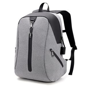 Alarm System Men Anti-theft Backpack
