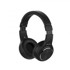 AWEI A600BL HiFi Trådlös Bluetooth-hörlurar, hopfällbar bas Stereo 3.5mm Aux i headset med mikrofon