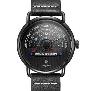 TOMORO Fashion Creative Tactical Unique Hour Reading Designer Men Watch Casual Male Quartz Watch