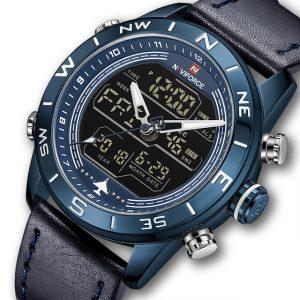 NAVIFORCE NF9144 Water Resistant LED Dual Display Watch