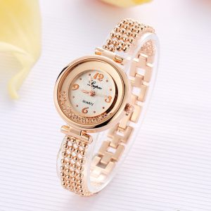 LVPAI P132 Elegant Design Shining Women Bracelet Watch
