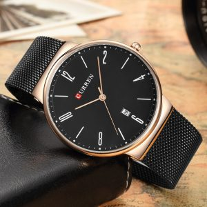 CURREN 8257 Ultra Thin Casual Quartz Watch
