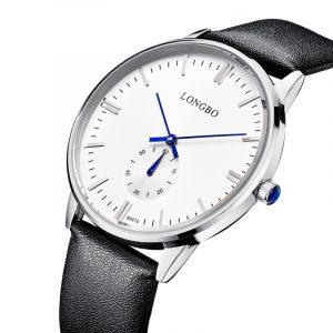 LONGBO 80070 Simple Dial Classic Waterproof Quartz Watch