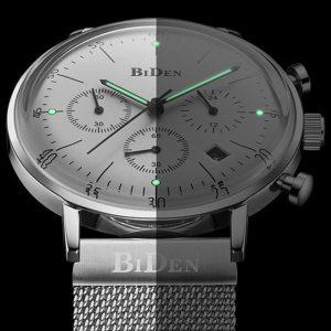 BIDEN BD00527 Lysande display Kronograf kvartsur