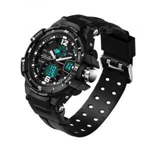 STRYVE S8012 Chronograph Luminous Dual Display Digital Watch