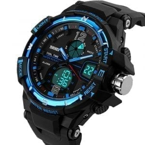 SKMEI 1148 Luminous Chronograph Dual Display Digital Watch