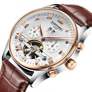 KINYUED JYD-J012 Calendar Automatic Mechanical Watch