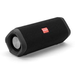 12W bärbar Bluetooth-högtalare dubbla enheter Handsfree vattentät utomhus Hoom Subwoofer