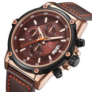 MINI FOCUS MF0175G Military Style Luminous Men Quartz Watch