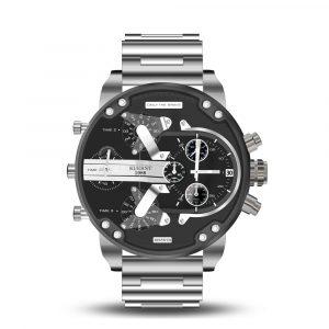KUERST 7313 Working Little Dials Waterproof Quartz Watch