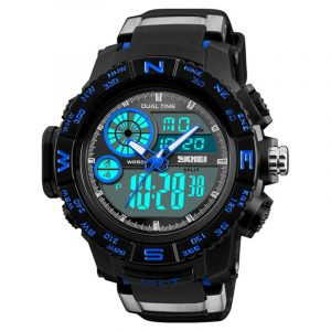 SKMEI 1332 Chronograf Digital Dual Display Digital Watch