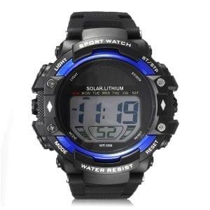 SKMEI 1129 Solar Power Digital Watch