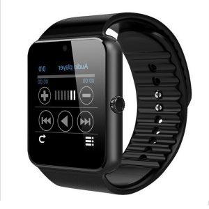 Bakeey GT108 GSM Framifrån Kamera Hjärtfrekvens sömnmonitor Sportläge Smart Watch-telefon