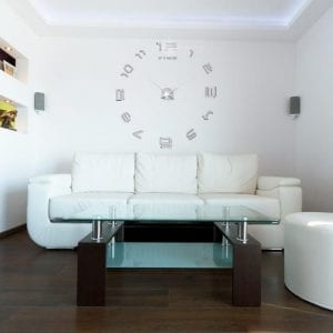 3D Fashion Simple Living Room DIY Wall Clocks Creative Clocks Home Decorations