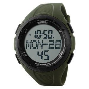 SKMEI 1122 Outdoor Rubber Band  Sport Men Digital Watch
